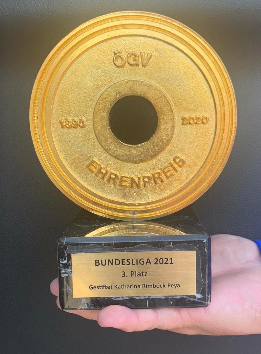 3. Platz für unsere Mannschaft beim Bundesliga-Finale in Vösendorf