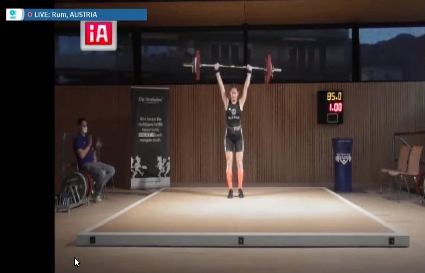 15.11.2020 - U 17 -Online - WM - Platz 11 für Anna Lamparter