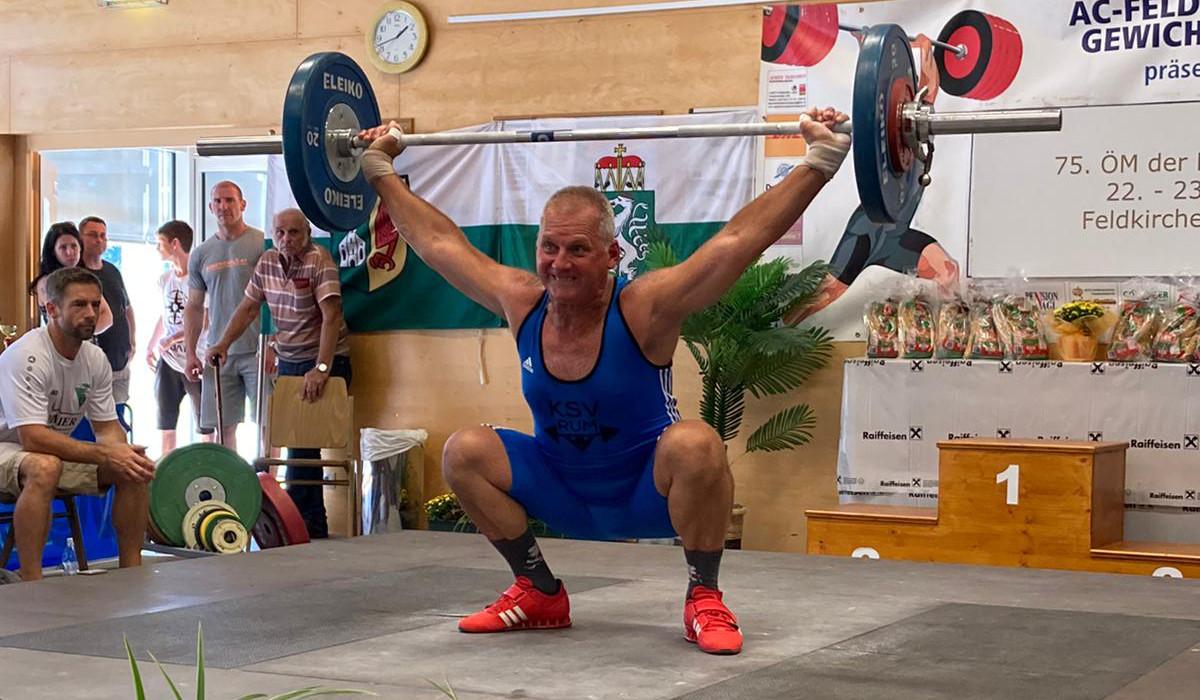24.08.2020 - Goldmedaille bei den Masters in Feldkirchen