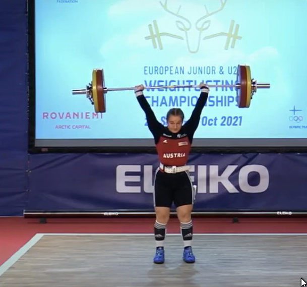 Platz 7 für Victoria Steiner bei der U-20-Europameisterschaft