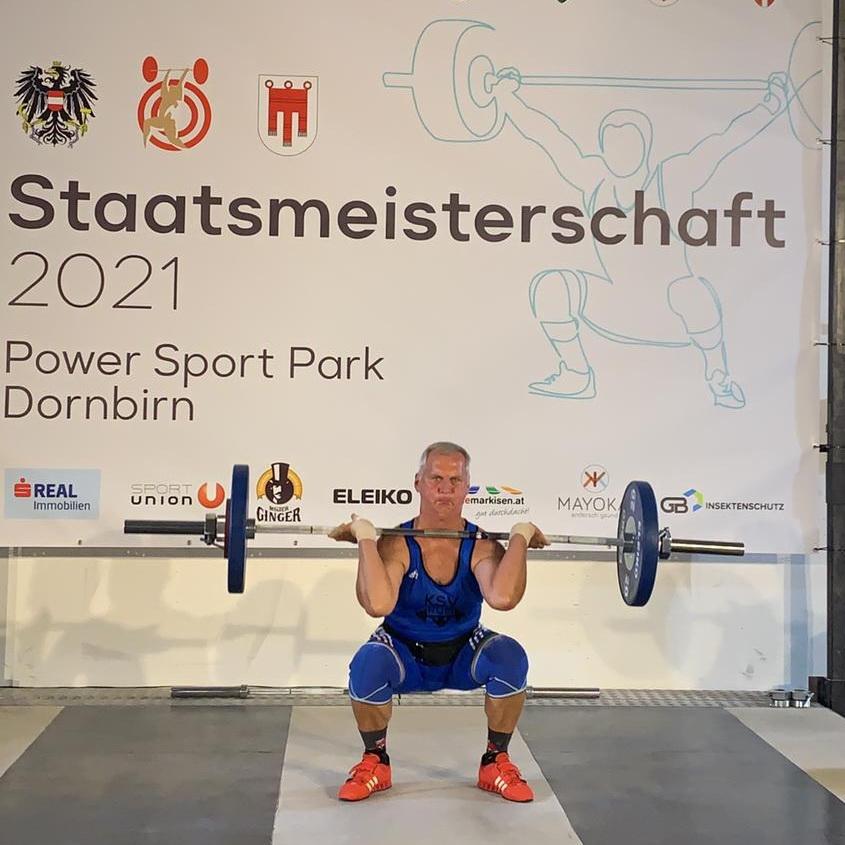 25. Titel für Gerhard Mörth bei der Masters-Staats
