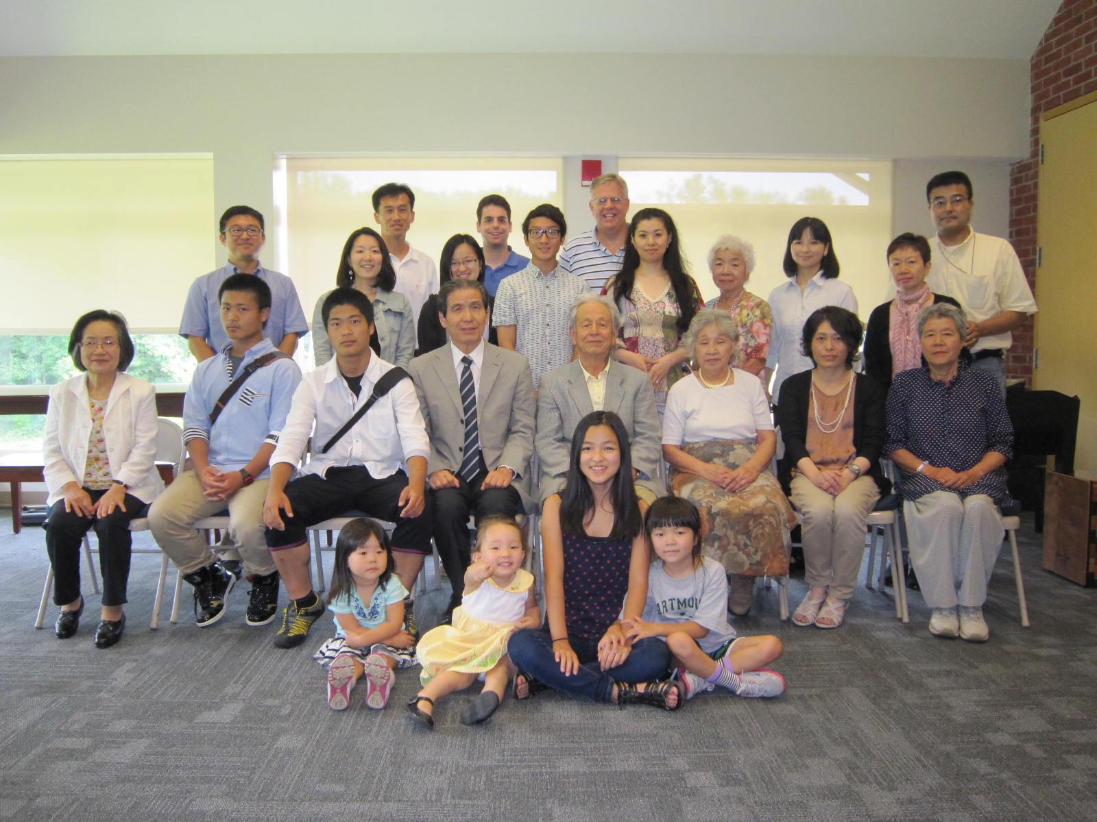 7月27日:日本からのゲストをお迎えして