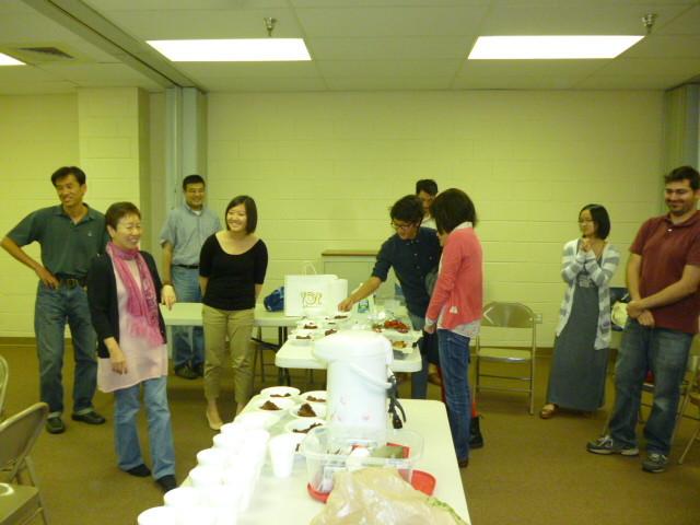 9月14日:新しい場所での礼拝スタート
