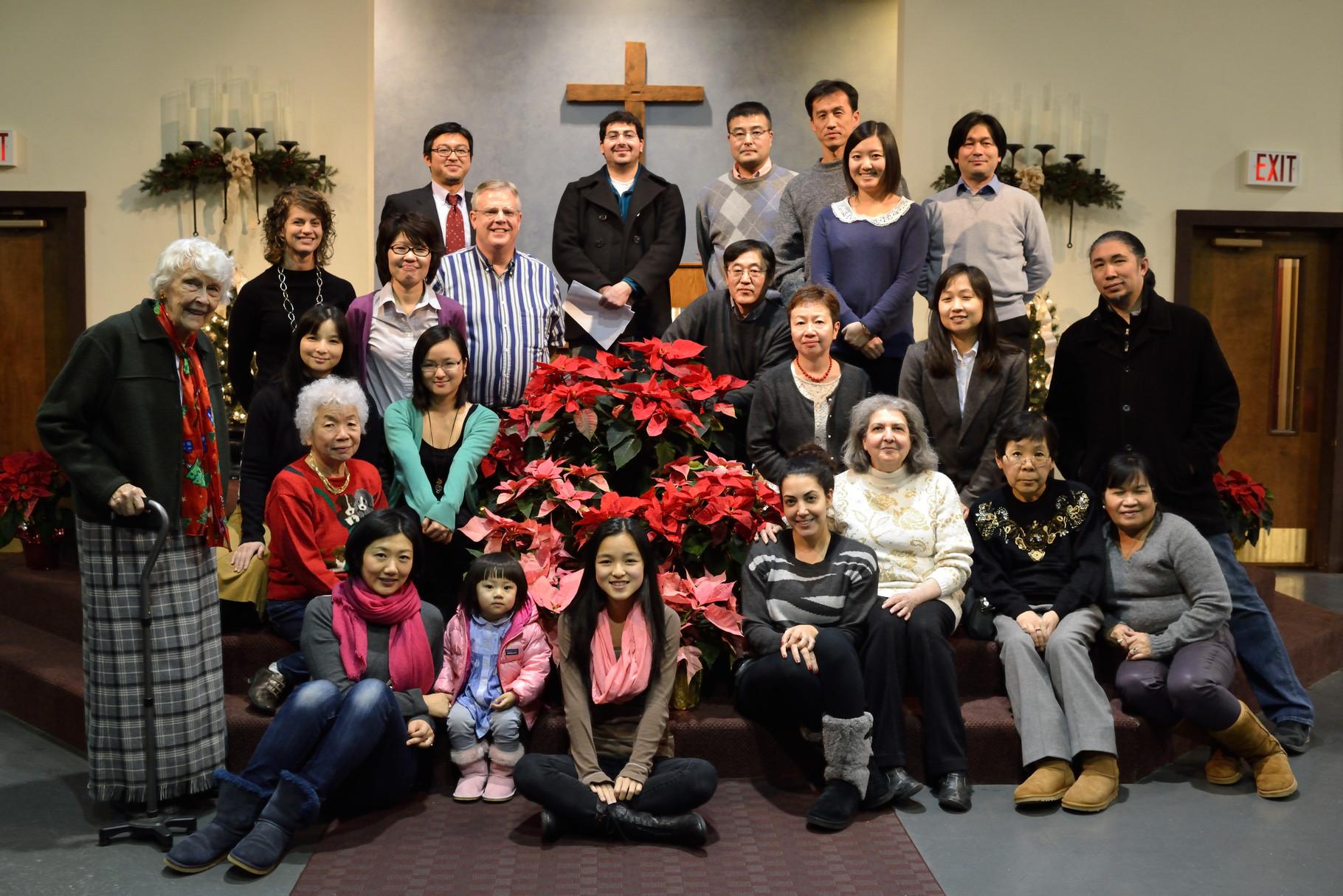 12月21日クリスマス礼拝