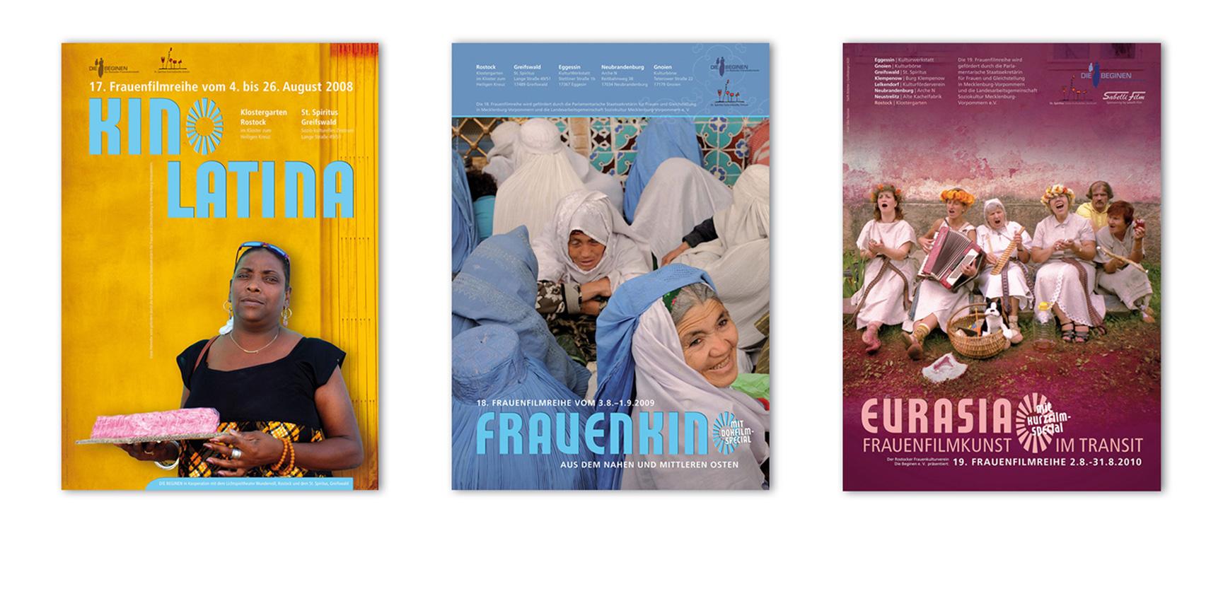 Frauenfilmreihe | Plakate