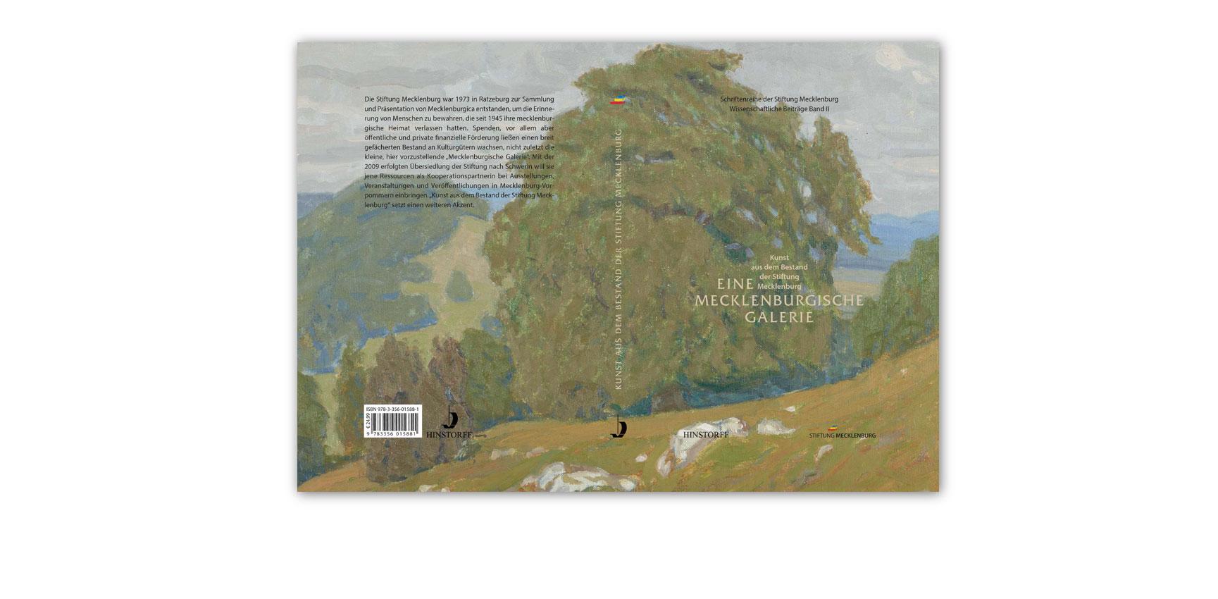 """""""Kunst aus dem Bestand der Stiftung Mecklenburg"""", Buchgestaltung"""