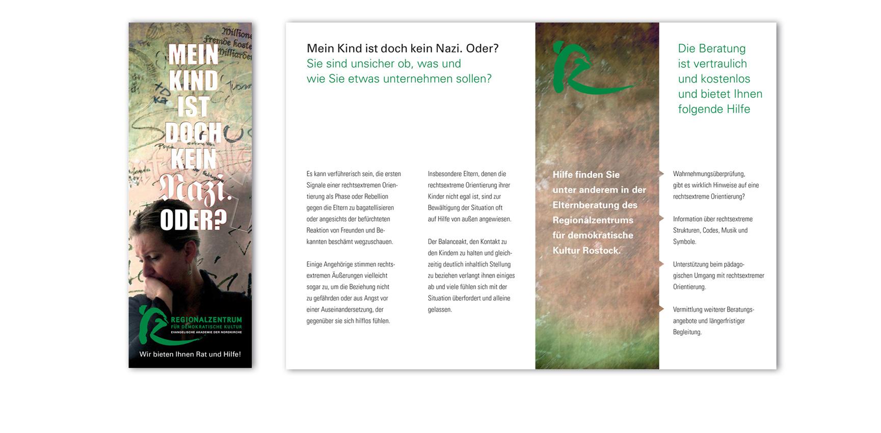 Elternberatung zum Thema Nationalismus, Rassismus und andere Formen der Abwertung und Ausgrenzung | Faltblatt