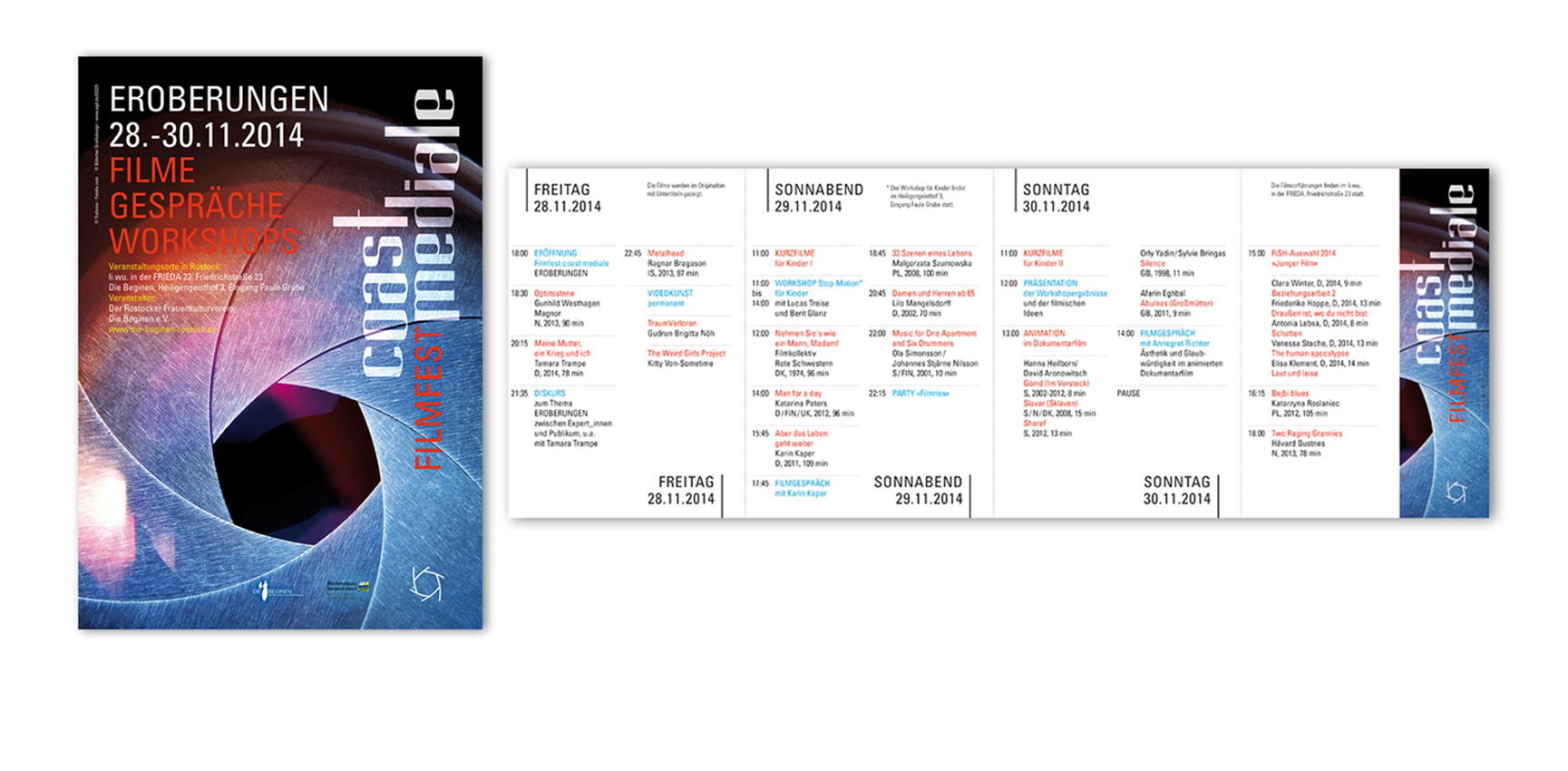 "Filmfest ""coast mediale"", Programm | Plakat"
