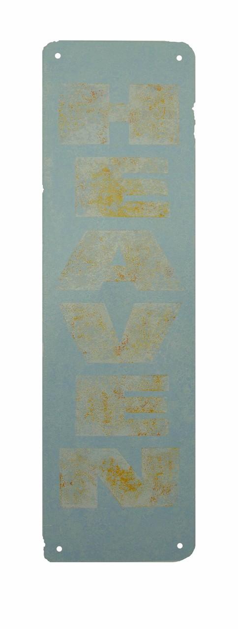 Heaven- Linoprint 40x100 cm