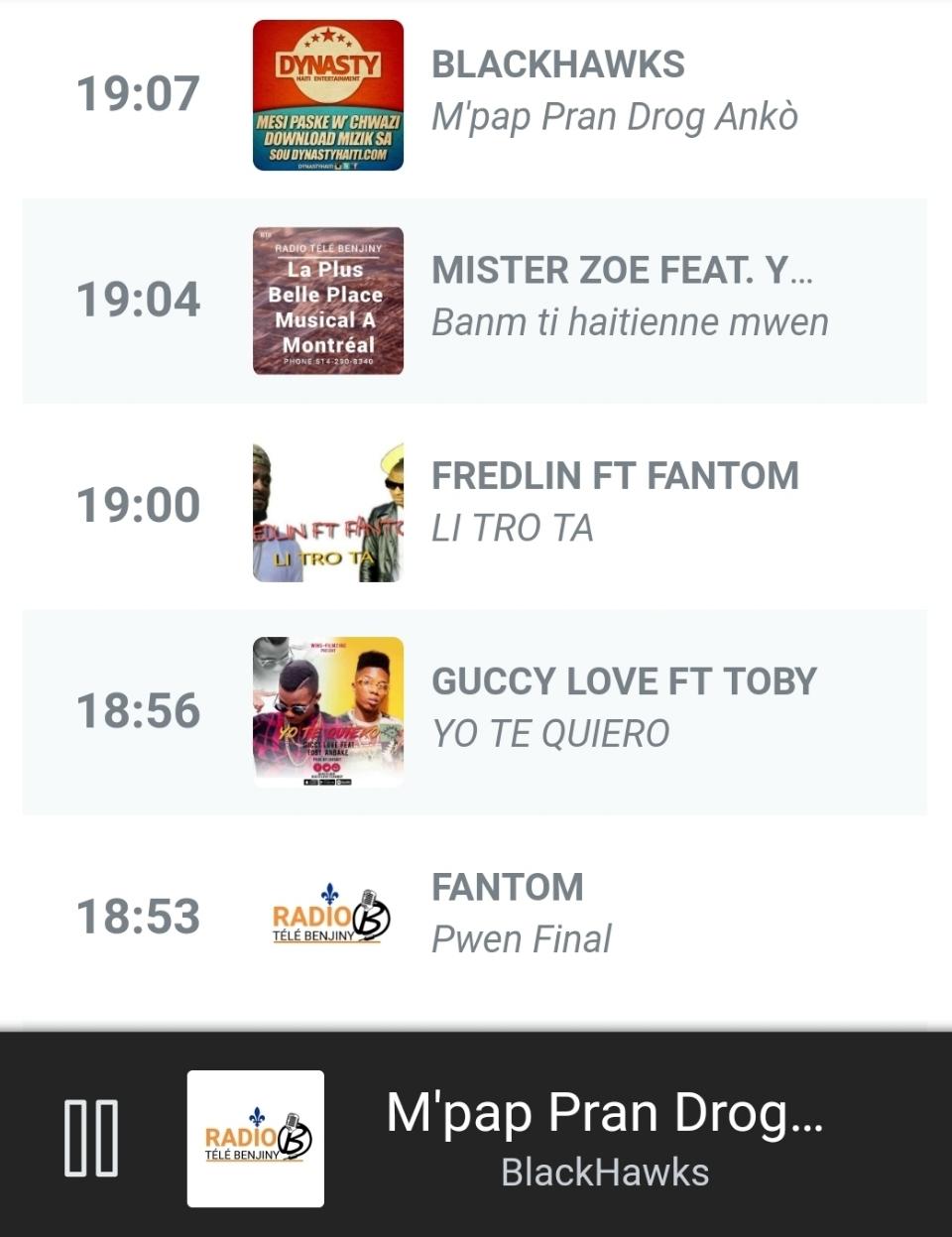 Émission Rap Kreyòl Sur Radio Télé Benjiny