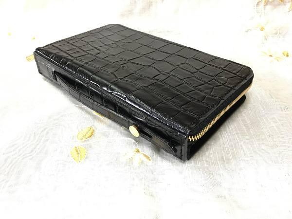 手帳型スマホケースを、お財布ケータイケースにリメイク――完成