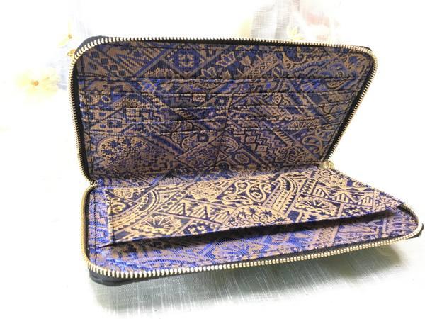 手帳型スマホケースを、お財布ケータイケースにリメイクーー70万が入るお札入れ