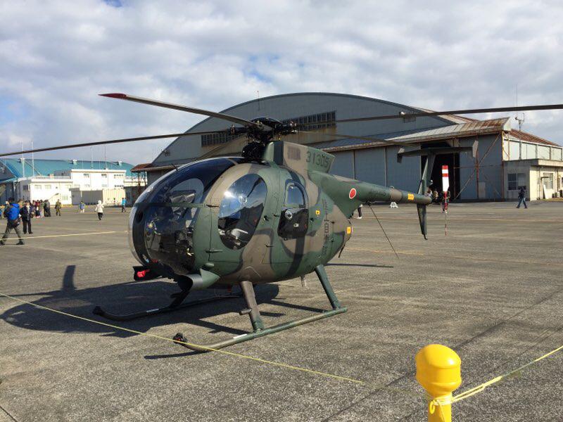 OH-6D観測ヘリ