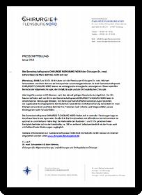 """Grafik: """"Preview - Pressemitteilung"""", CHIRURGIE FLENSBURG NORD"""