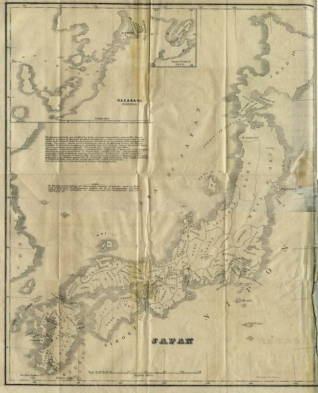 Le Japon en 1855