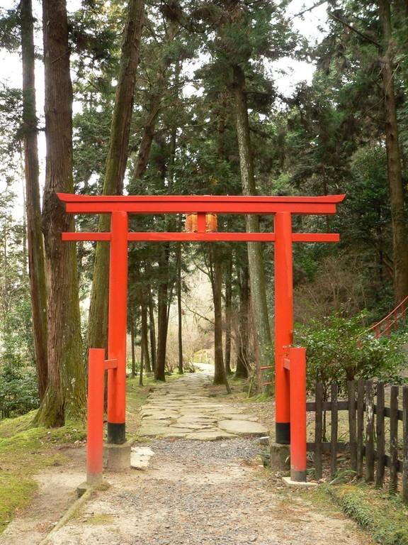 Ishiyamadera - Torii
