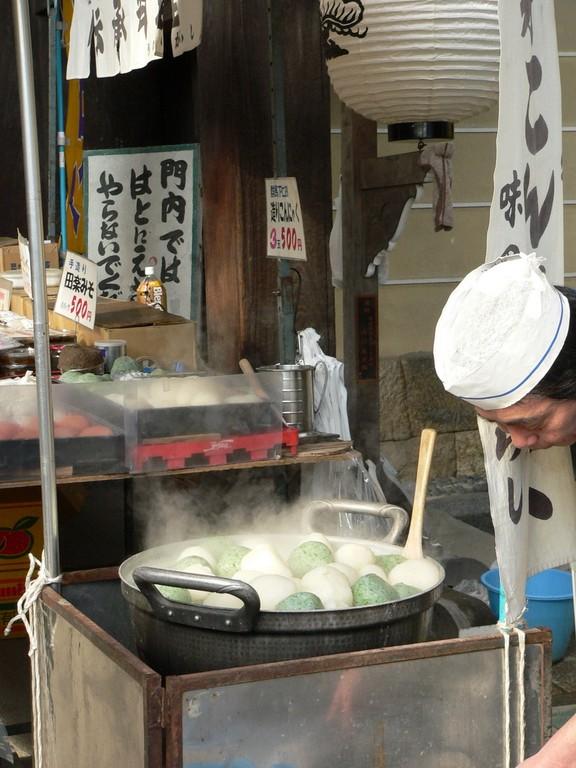 Kyôto - Marché dans l'enceinte du Tenman-gu