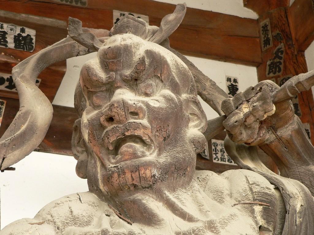 Ishiyamadera - Deva de la porte Sanmon - Ecole des Kei