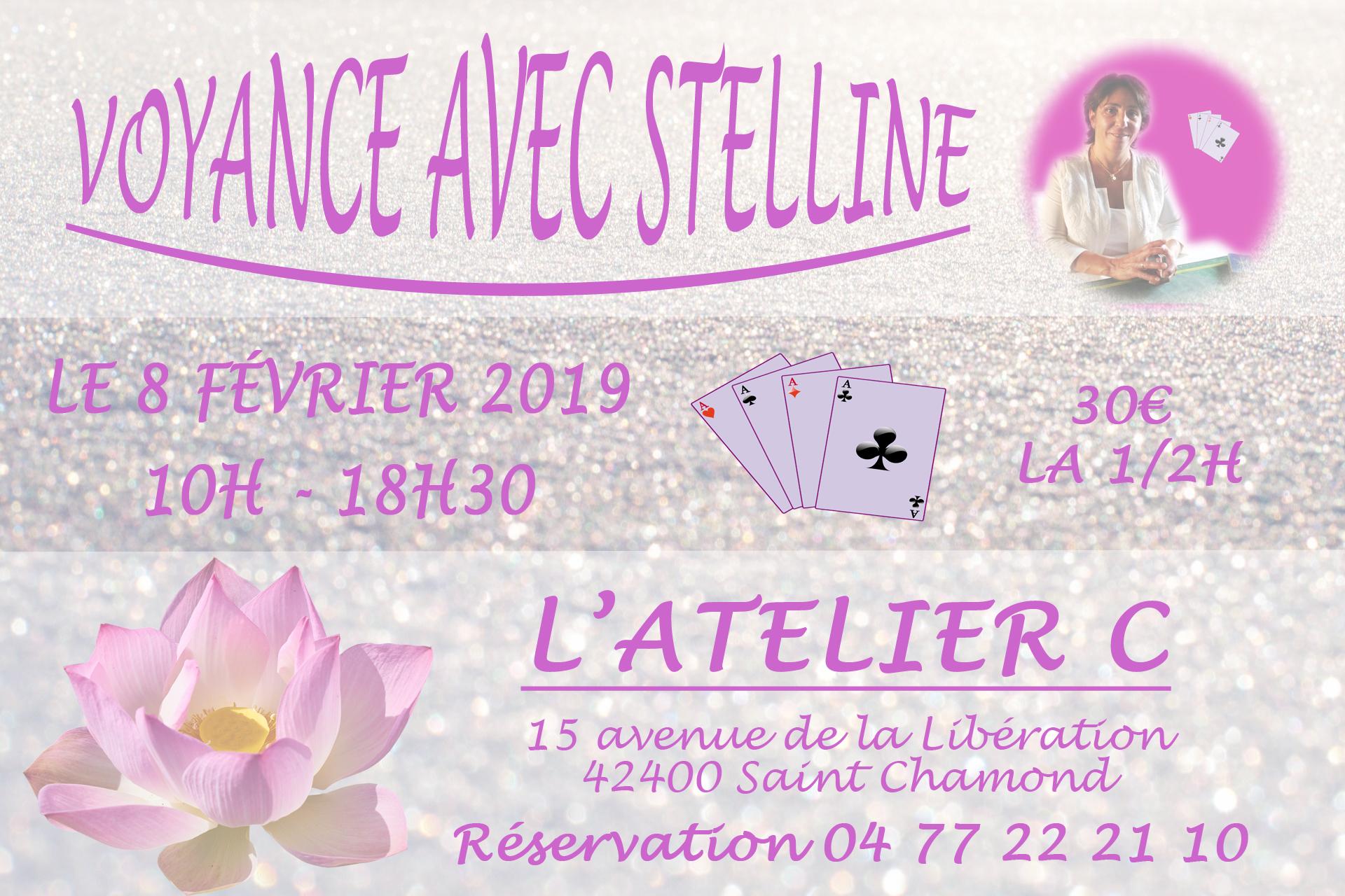 Stelline à L'Atelier C à St Chamond le 8 février 2019