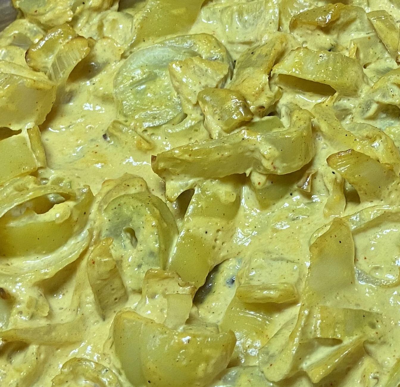 Cremiges Fenchel-Paprika Gemüse