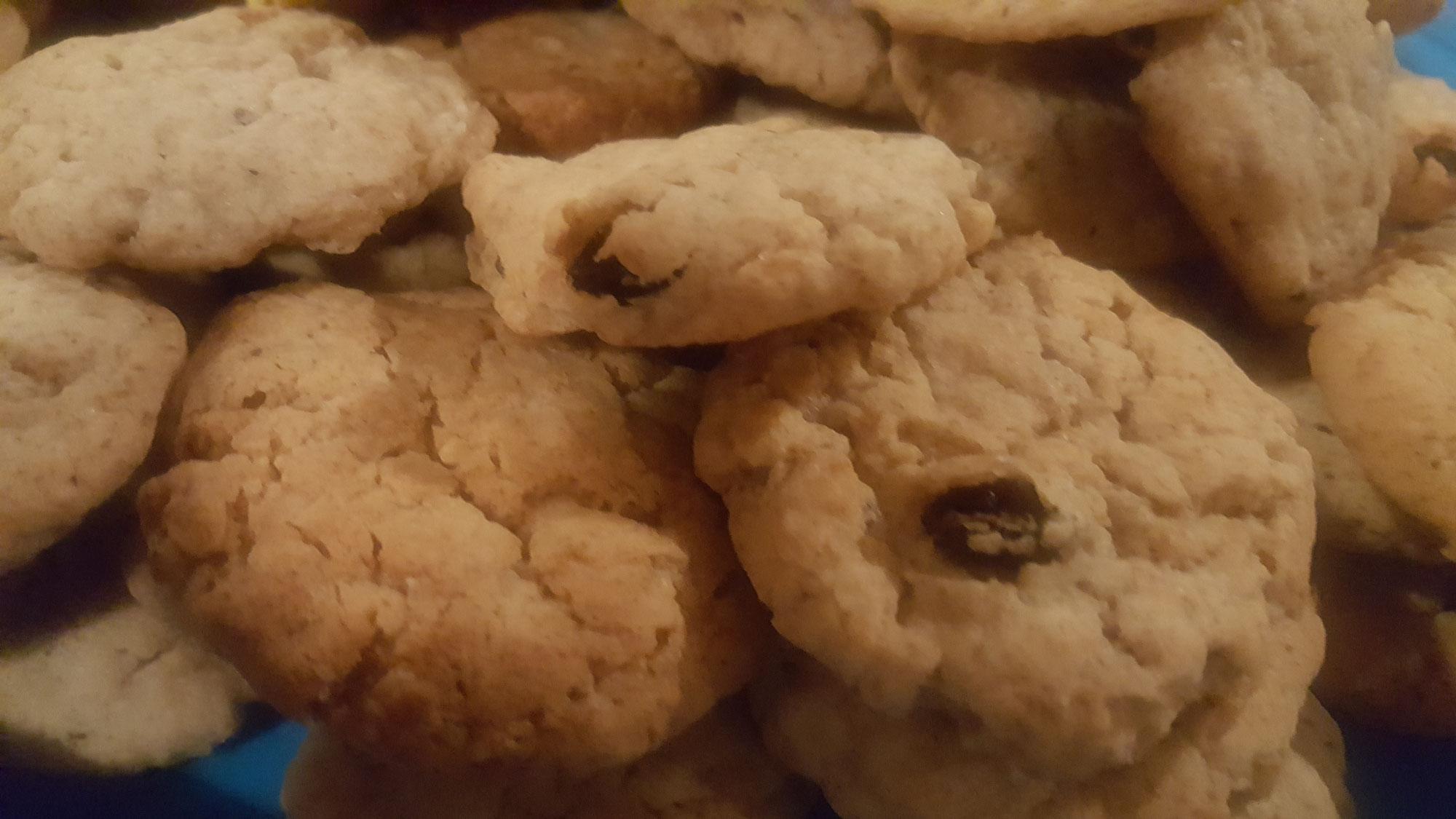 Rosinen-Haferflocken Kekse