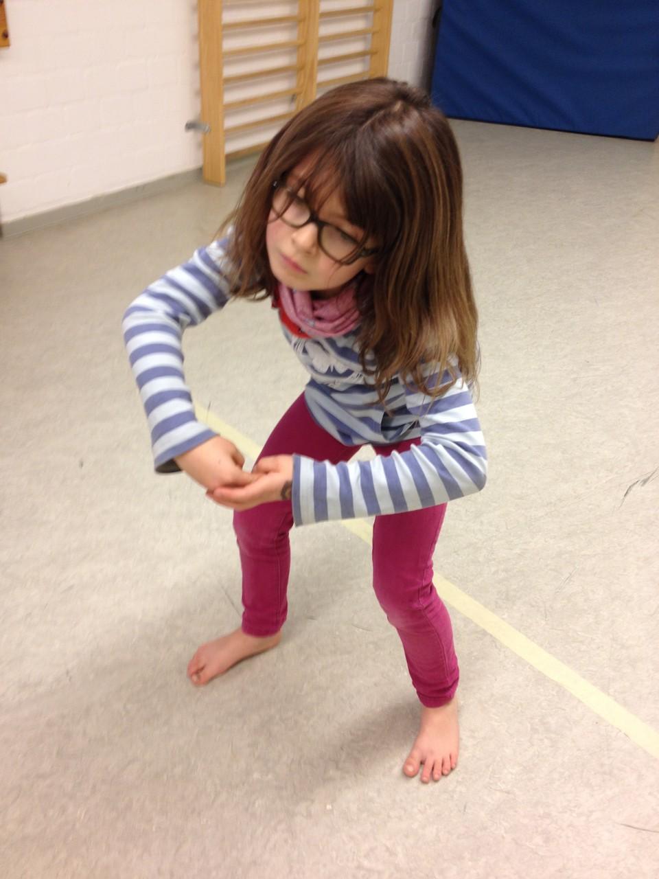 Unterricht Kinder tanzen