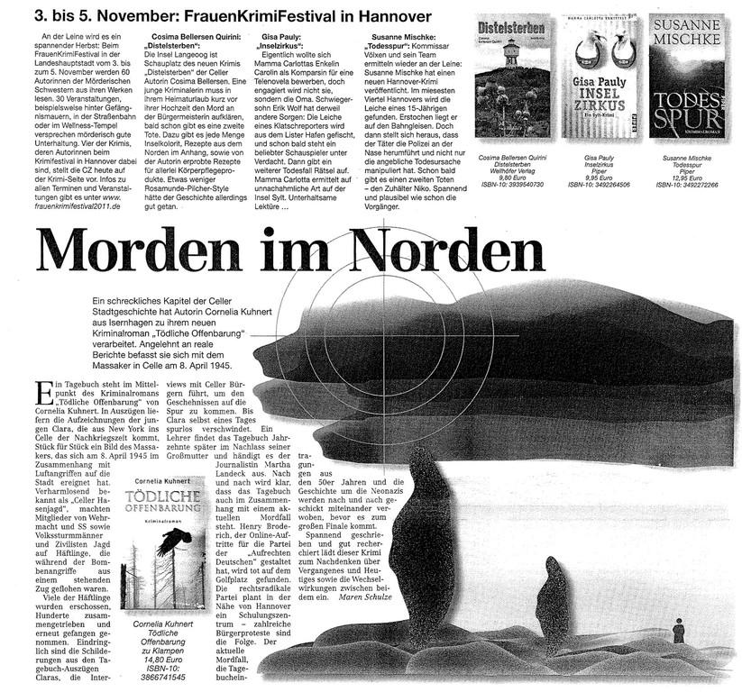 Maren Schulze, Celler Zeitung, November 2011