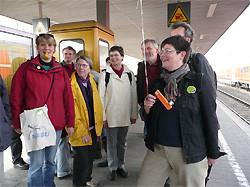 Warten auf die S-Bahn Foto:NABU/Reimers