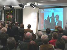Der Saal war voll: 360 Gäste kamen. Foto:NABU/R.Appl