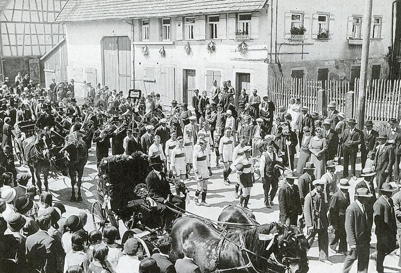 Gaumusikfest Festumzug