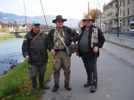 Die Salzburger City fly fisher