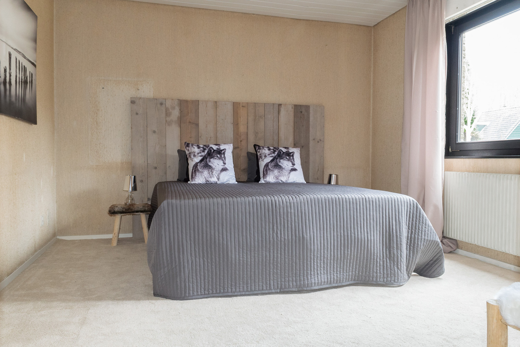 Slaapkamer NA meubelverhuur