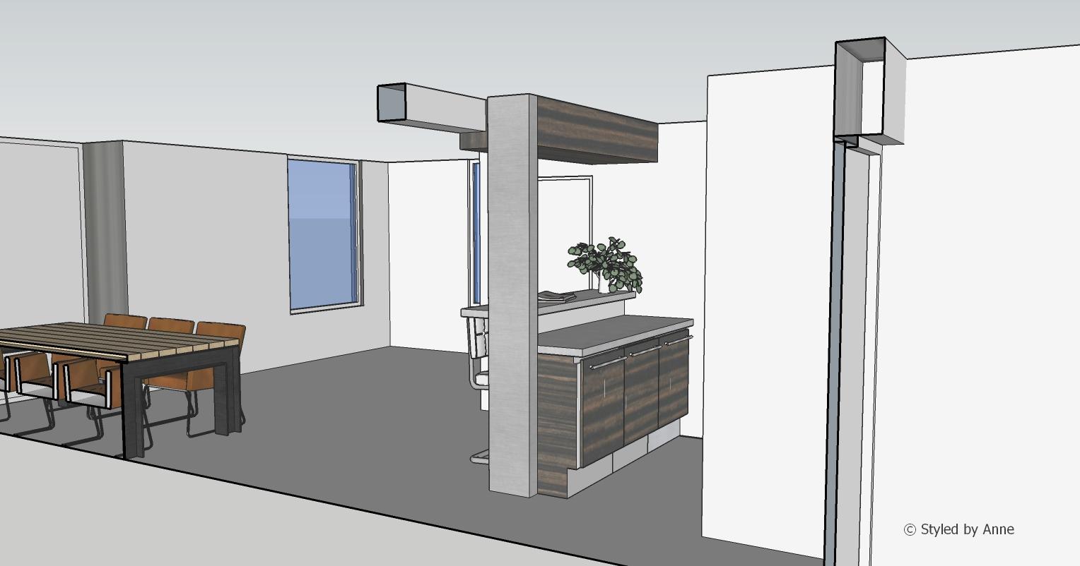 3D Visualisatie doorsnede