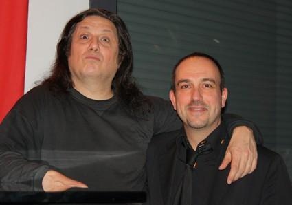 Pascal Tourain et Patrice Blanchard