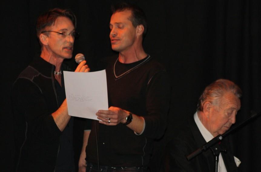 Yann et Olivier savent aussi très bien chanter !