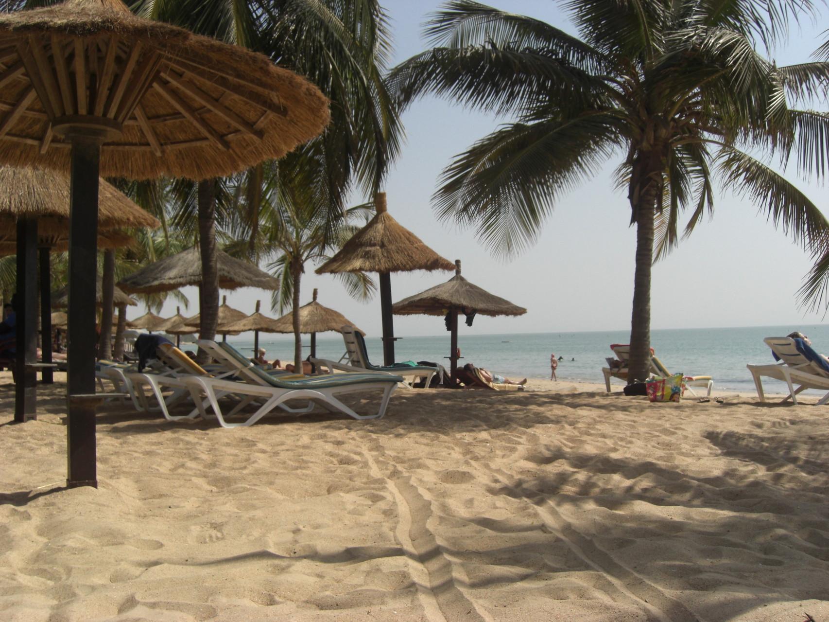La plage de Saly