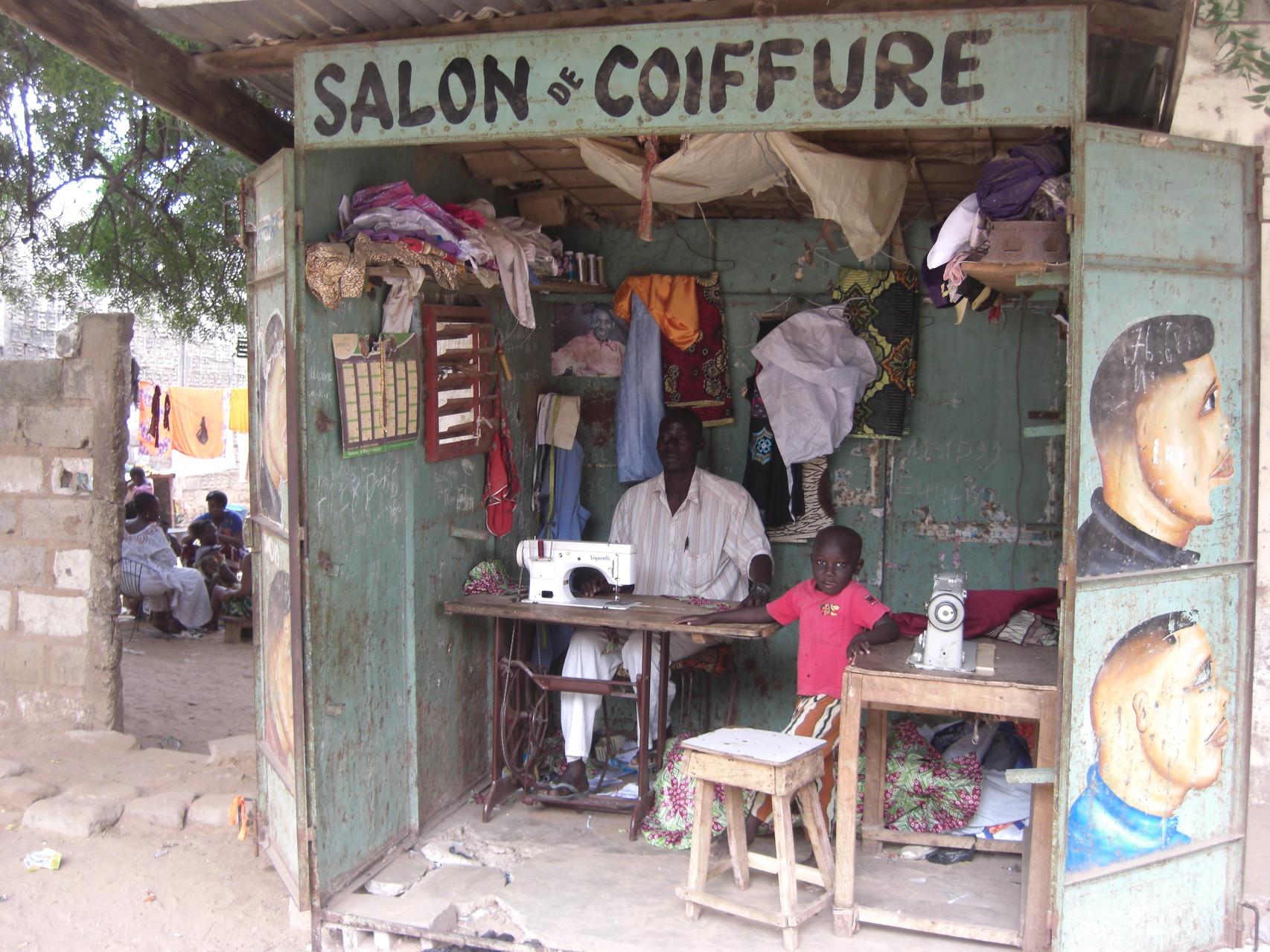 """Salon de """"coiffure"""""""
