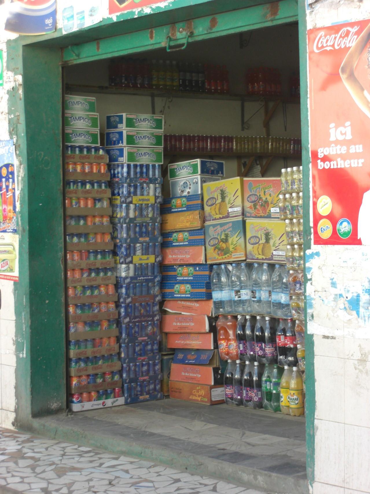 Le supermarché sénégalais