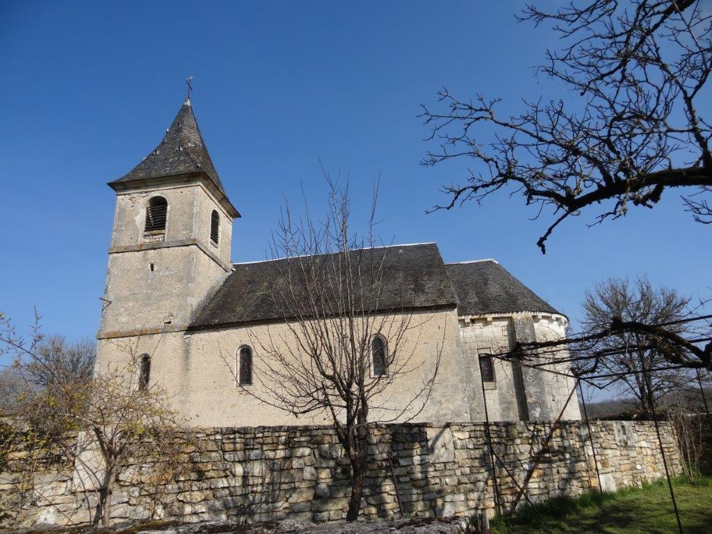 L'église de St Chignes