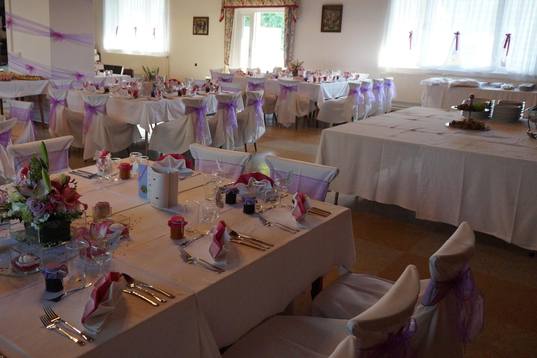 Hochzeit mit Vorspeisenbuffet