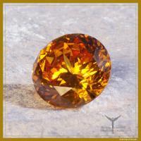 Diamant gold für die Verbindung zur Glückseligkeit