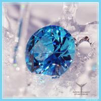 Diamant atlanitsblau verbindet dich zu Atlantis