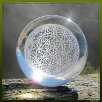 Blume des Lebens Kugel für Aura Harmonie