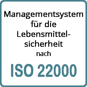 Managementsystem für die Lebensmittelsicherheit nach ISO 22000