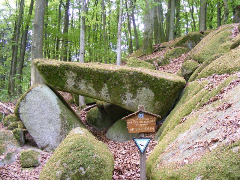 """ND """"Bügeleisen"""" - eine Felsenburg"""