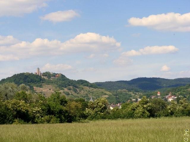 Blick auf die Starkenburg