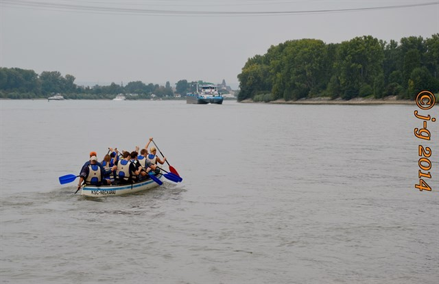 Rhein - sportliche Betätigung
