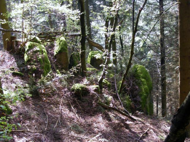 kleinere Felsenburg