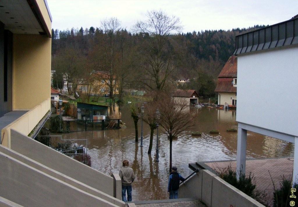 Hochwasser in der Stadt