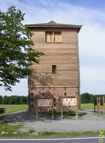 "Limeswachturm ""Im oberen Haspel"" (WP 10/15)"